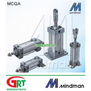 MCQN   Mindman MCQN   Air Standand Cylinder MCQN   Xilanh khí nén   Mindman Vietnam