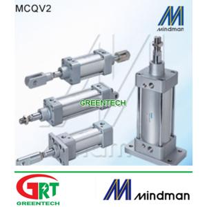 MCQV2   Mindman MCQV2   Ảir Cylinder   Xilanh khí nén MCQV2   Mindman Vietnam