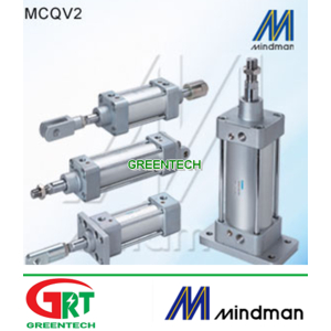 MCQV2L   Mindman MCQV2L   Ảir Cylinder   Xilanh khí nén MCQV2L   Mindman Vietnam