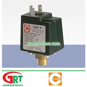 MDR-P | Condor MDR-P | Công tắc áp suất Condor MDR-P | Pressure Switch Condor MDR-P | Condor Vietnam