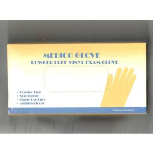 Găng tay y tế không bột vinyl Medico Glove