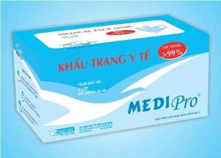 Khẩu trang y tế Medipro