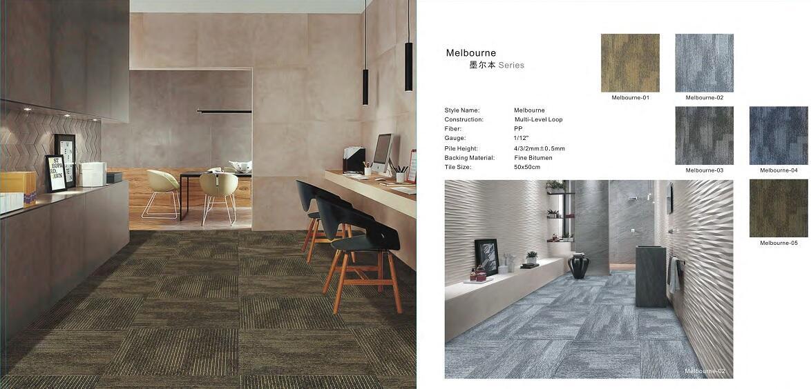 Thảm viên trải sàn Melbourne carpet