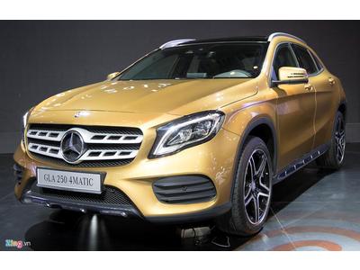 Mercedes GLA 2017 ra mắt với giá từ 1,6 tỷ đồng