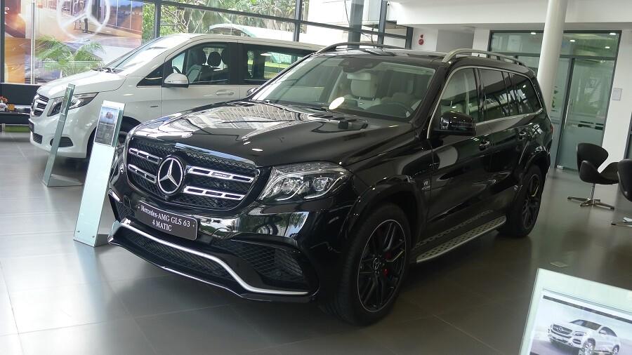 Mercedes-Benz AMG GLS 63 4MATIC