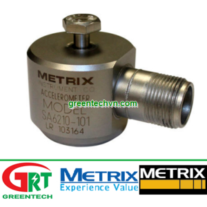 Metrix SA6210 | Gia tốc kế bằng gốm Metrix SA6210 | Ceramic accelerometer Metrix SA6210