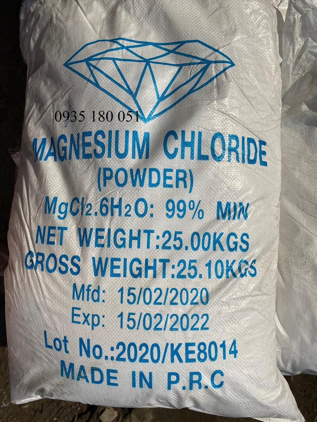 Magie chloride MgCl2.6H2O 99%