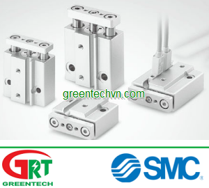 Pneumatic cylinder / double-acting / with guided piston rod| MGJ series |SMC Pneumatic | SMC Vietnam