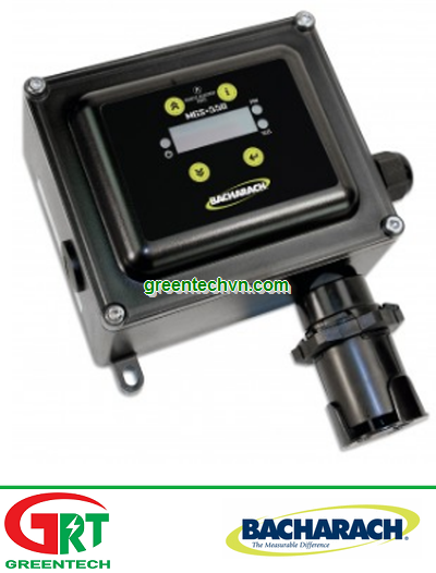 6600-8010   MGS-550  Gas Detector, IP66, CO2, 0-5,000 ppm   Cảm biến nồng độ CO2   Bacharach Vietnam