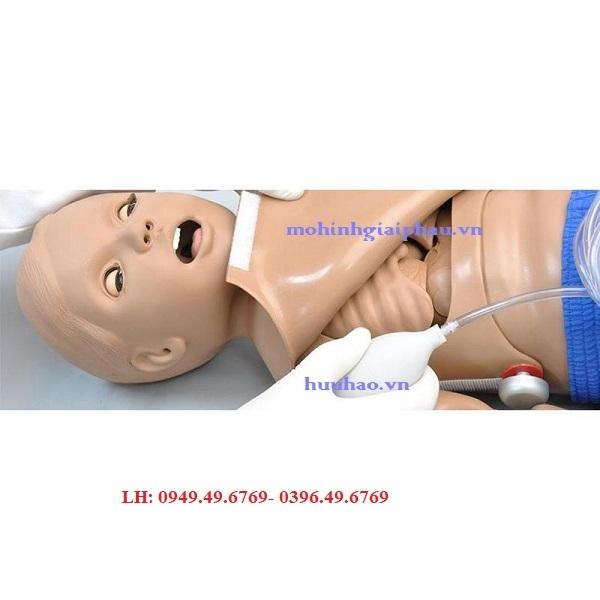 Mô hình hồi sức CPR và chăm sóc chấn thương trẻ 1 tuổi Model S111