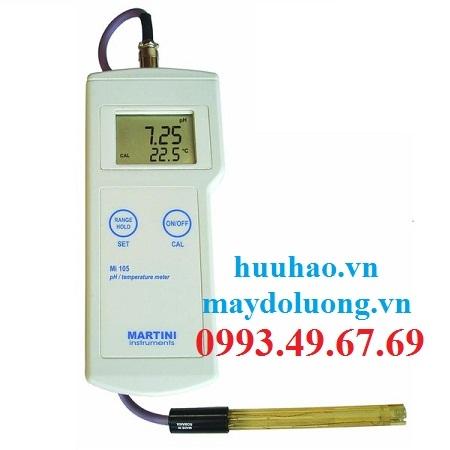 MÁY ĐO pH/NHIỆT ĐỘ HIỆN TRƯỜNG Mi 105