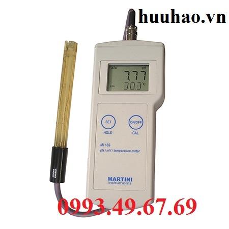 MÁY ĐO pH/mV/NHIỆT ĐỘ HIỆN TRƯỜNG Mi 106
