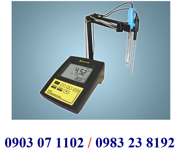 MÁY ĐO pH/mV/NHIỆT ĐỘ ĐỂ BÀN ĐIỆN TỬ HIỆN SỐ Model Mi 151