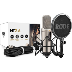 Mic thu âm Rode NT2-A Studio Solution Package