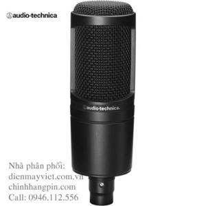 Micro thu âm Audio-Technica AT2020
