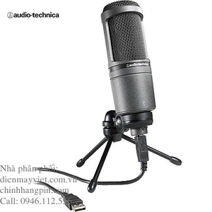 Micro thu âm Audio-Technica AT2020USB
