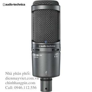 Micro thu âm Audio-Technica AT2020USB+