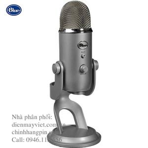 Microphone Blue Yeti USB (Silver) chính hãng