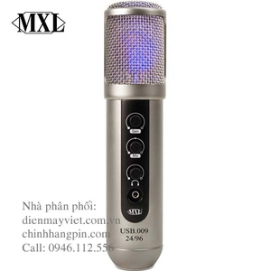 Microphone MXL USB.009 - Large Diaphragm 24-Bit 96kHz Studio USB