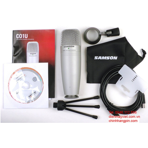 Microphone Samson C01UCW studio Cakewalk Sonar LE USB
