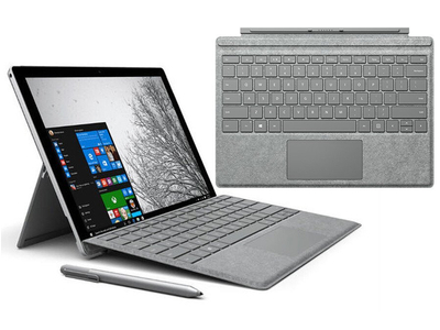 Microsoft Surface Pro 4 (Core i7-6650U   Ram 16GB   SSD 256GB   99% có Cover (Phím)
