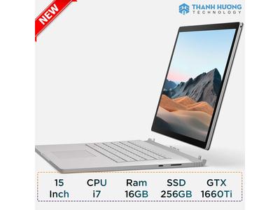 Microsoft Surface Book 3 - 15inch - Core i7 - Ram 16GB - SSD 256TB - 1660Ti 6GB New Seal