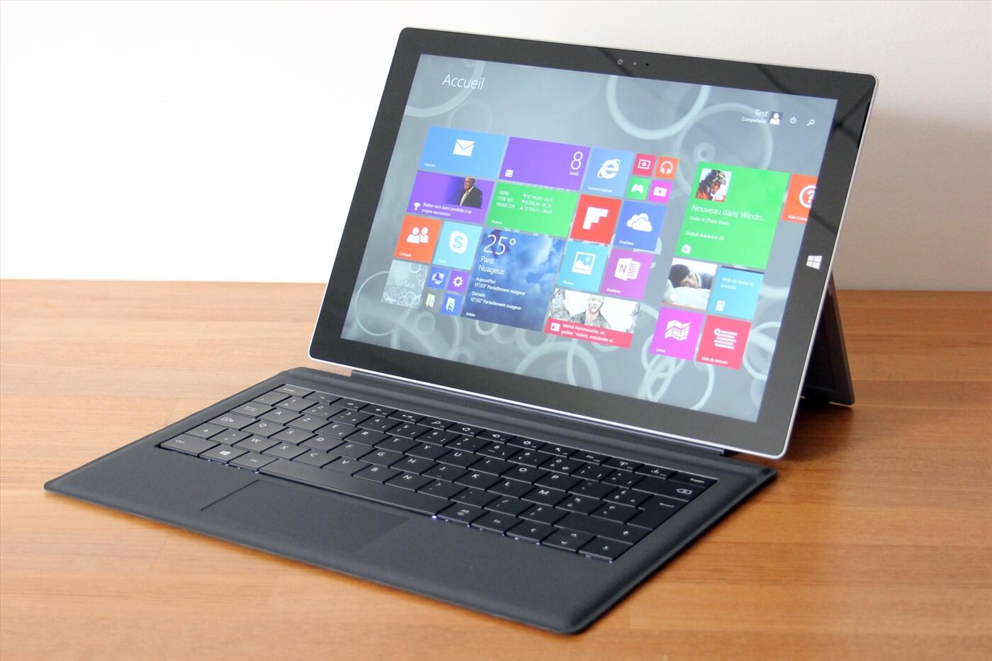 Microsoft Surface Pro 3 (Core i5-4300U   Ram 4GB   SSD 128GB   12.5 inch 2K+ Touch + kèm phím