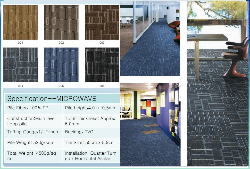 Thảm viên trải sàn Microwave carpet
