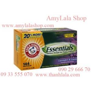 Miếng giấy xả thơm quần áo Arm & Hammer Essentials - 0933555070 - 0902966670 :