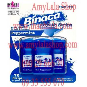 Miếng ngậm thơm miệng Binaca Fastblast cao cấp - 0933555070 - 0902966670 - www.thanhlala.com -