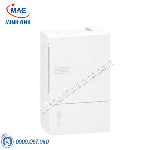 Tủ điện nhựa nổi, cửa trơn chứa 4 MCB - Model MIP12104