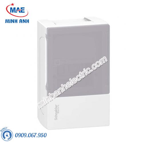 Tủ điện nhựa nổi, cửa mờ chứa 4 MCB - Model MIP12104T
