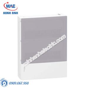 Tủ điện nhựa nổi, cửa mờ chứa 24 MCB - Model MIP12212T