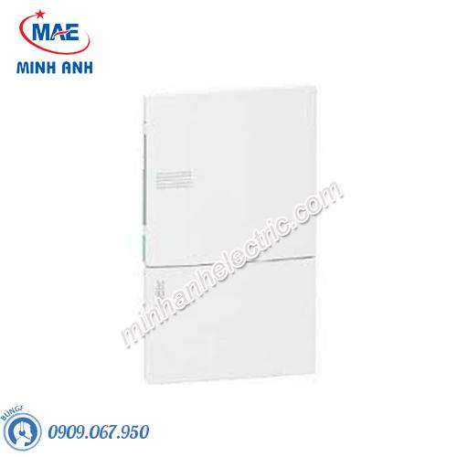 Tủ điện nhựa âm tường, cửa trơn chứa 6 MCB - Model MIP22106