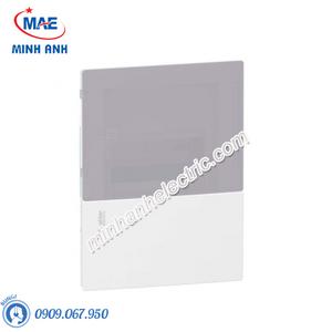 Tủ điện nhựa âm tường, cửa mờ chứa 6 MCB - Model MIP22106T