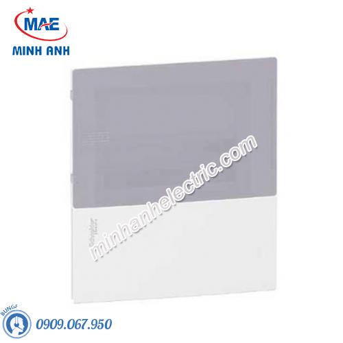Tủ điện nhựa âm tường, cửa mờ chứa 8 MCB - Model MIP22108T