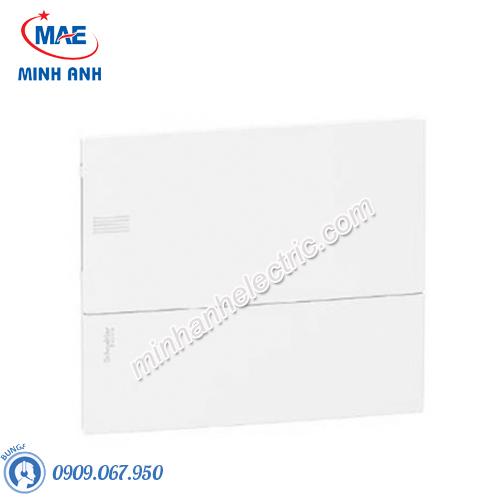 Tủ điện nhựa âm tường, cửa trơn chứa 12 MCB - Model MIP22112