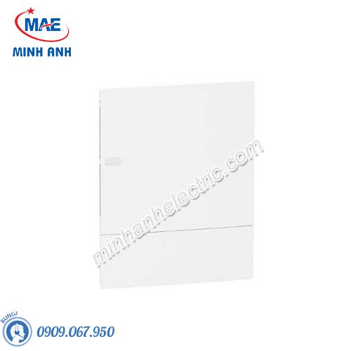Tủ điện nhựa âm tường, cửa trơn chứa 24 MCB - Model MIP22212