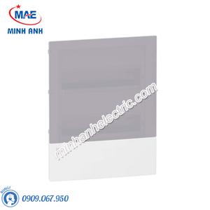 Tủ điện nhựa âm tường, cửa mờ chứa 24 MCB - Model MIP22212T
