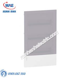 Tủ điện nhựa âm tường, cửa mờ chứa 36 MCB - Model MIP22312T
