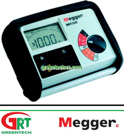 Megger MIT 320 | Insulation Tester Megger MIT 320 | Máy đo điện trở cách điện Megger MIT 320