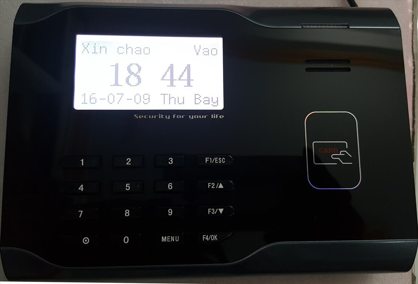Máy chấm công bằng thẻ cảm ứng MITA 9000 (màn hình trắng đen)