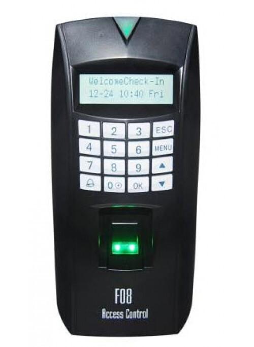 Máy chấm công, kiểm soát cửa vân tay, thẻ MITA F08