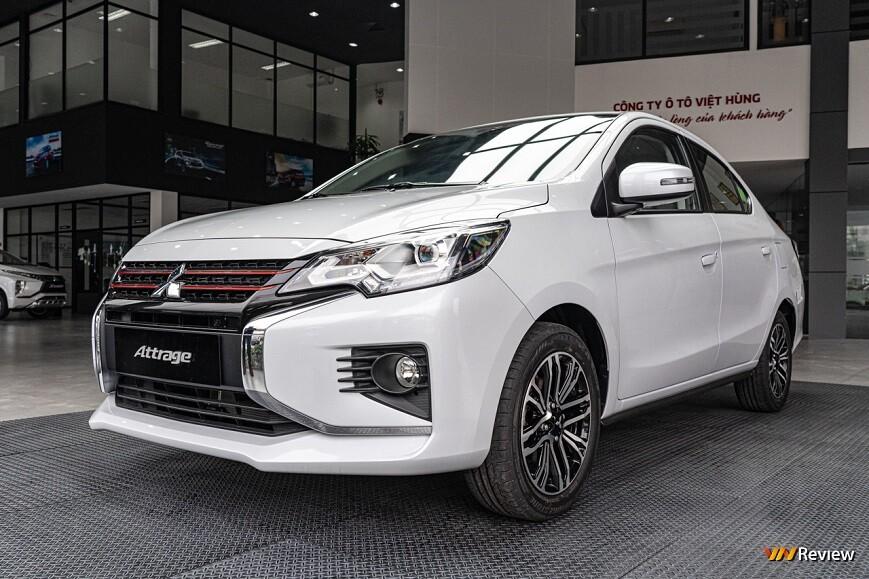 Mitsubishi Attrage lọt Top 10 xe bán chạy nhất tháng