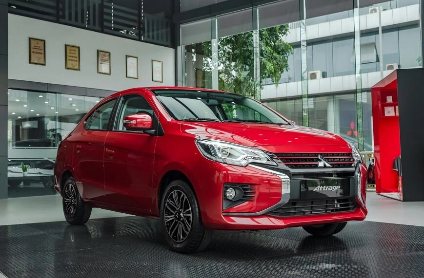 Mitsubishi Attrage lọt top 10 xe bán chạy nhất tháng 4 năm 2021