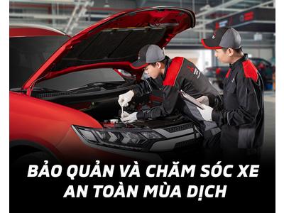 Mitsubishi Ninh Bình hướng dẫn bảo quản, chăm sóc xe ô tô mùa dịch