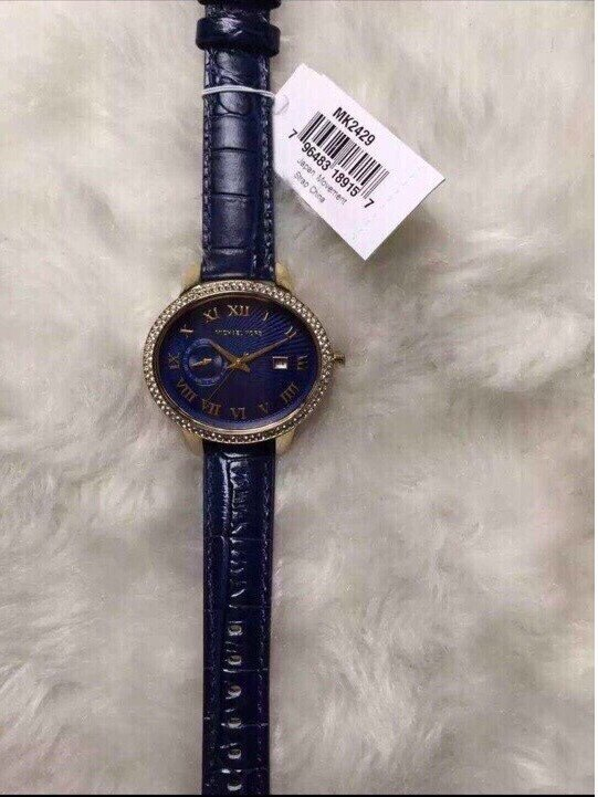 Đồng hồ nữ Michael Kors Whitley blue MK2429