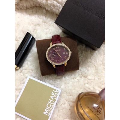 Đồng hồ nữ Michael Kors Whitley Red MK2430