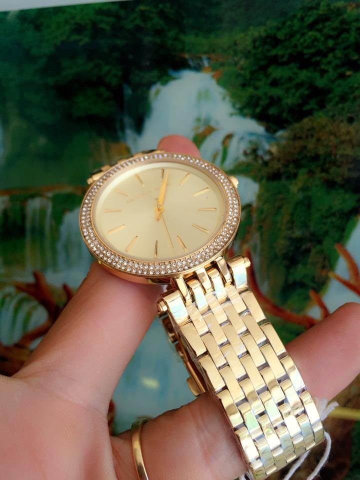 Đồng hồ nữ Michael Kors Darci Stainless Steel MK3191
