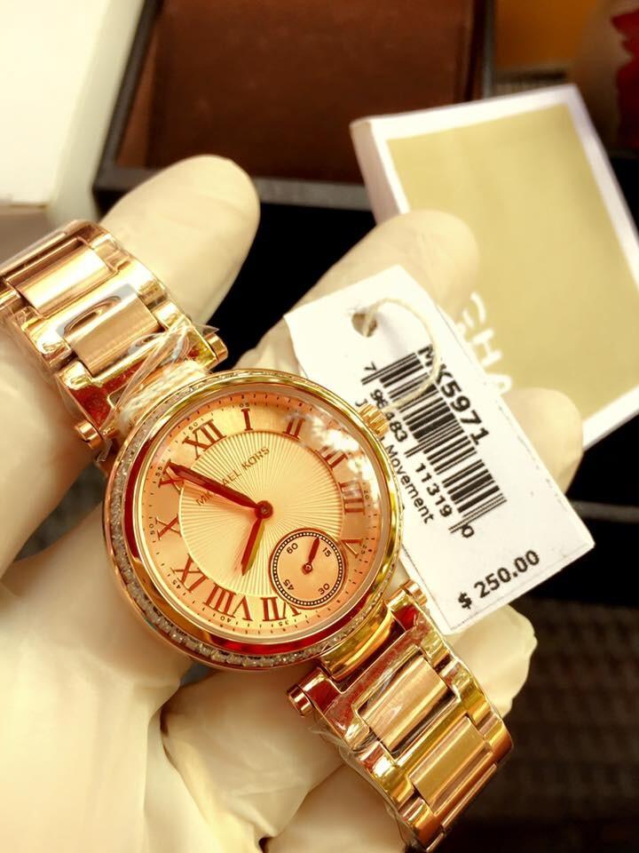 Đồng hồ nữ Michael Kors Skylar Rose Gold MK5971